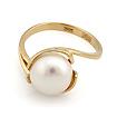Кольцо с белым жемчугом SL-2837-370 весом 3.7 г  стоимостью 14430 р.