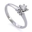 Золотое кольцо с бриллиантами SLV-K257 весом 2.65 г  стоимостью 35280 р.