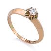 Золотое кольцо с бриллиантами SLV-K272 весом 2.12 г  стоимостью 28620 р.