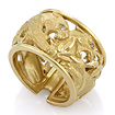 Золотое кольцо с бриллиантами SLV-K426 весом 12.15 г  стоимостью 126540 р.