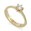 Золотое кольцо с бриллиантами SLV-K392 весом 2.11 г  стоимостью 27900 р.