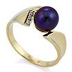 Кольцо с бриллиантами и жемчугом 4.87 г SL-52114-487