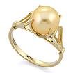Золотое кольцо с золотым жемчугом SL-0259-310 весом 3.05 г  стоимостью 11895 р.