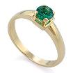Кольцо с ярким изумрудом SL-17801-260 весом 2.6 г  стоимостью 24500 р.