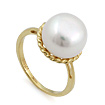 Кольцо с жемчугом в золоте SL-0246-422 весом 4.22 г  стоимостью 18146 р.