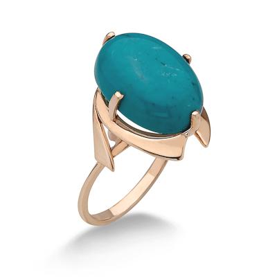 Кольцо с бирюзой 4.82 г SV-0404-482