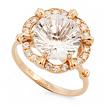 Оригинальное кольцо с горным хрусталем SV-0519-332 весом 3.32 г  стоимостью 14940 р.